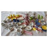 Vintage assorment of childs tea china