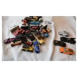 Assortment of vintage toy cars