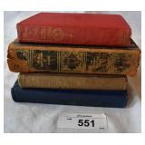 Four vintage books