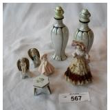 Vintage parfume bottles +