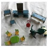 Vintage Dollhouse Furniture Sets