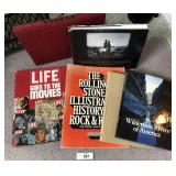 6 pcs. Misc. Coffee Table Books
