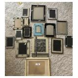 16 pcs. Misc. Photo Frames