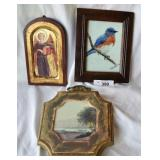 3 pcs. Vintage Wall Decor