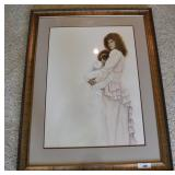 Michele Bennethum Signed Watercolor Painting
