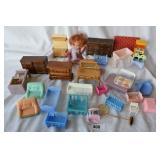Box Lot of Misc. Doll Furniture