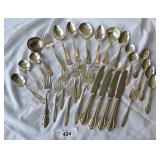 29 pcs. Mixed Silver Plate Flatware