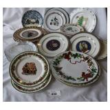 Large Selection of Vintage Holiday Plates+