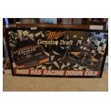 2 pcs. NASCAR Wall Décor
