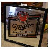 Miller Light Bar Mirror