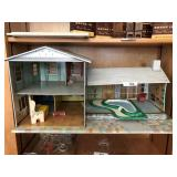 Vintage Marx Split-level Dollhouse