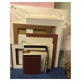 Assortment of Matting Material