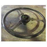 1938 Plymouth Convertible Bakelite Steering Wheel
