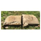 1941-48 Chevy Convertible Seat Back Frames