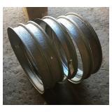 "Vintage Split  Metal Tire Rims 26"" x 3 3/4"" (NEW)"