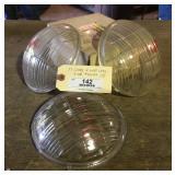 1937 Cadillac Head Light Lenses