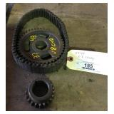1937-48 Cadillac Timing Belt And Gears V-8