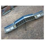 1977 Cadillac Grill Assembly W/Headlights