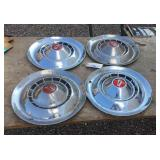 1954 Chevy Hubcaps Set Of (4)