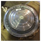 Vintage Cadillac Hubcaps Set Of (4)