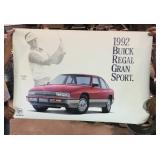 1992 Buick Dealer Display Sign
