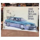 1992 Buick Skylark Dealer Display Sign