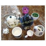 Tea Kettle, Knick Knacks, Candle
