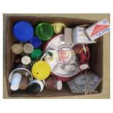Plastic Cups | Plates | Clock | Pie Bird