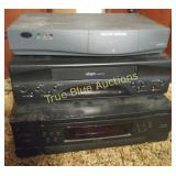 Philips Magnavox Webtv Box, Zenith VCR, CD Player
