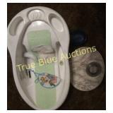 Baby Bath, Bibs, Bathroom Scale, Soap Holder