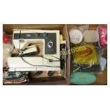Sewing Machine & Crafting Wares