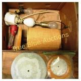 Vintage Lamp, Clock & More