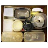 Box of Tupperware & More