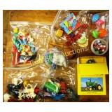 Vintage Toys - John Deere Tractore & More