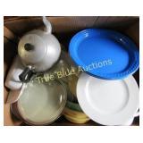 Plates, Bowls Teapot & More
