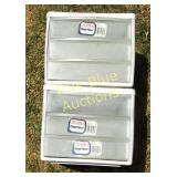 Sterilite Clear View Shelves & Drawers
