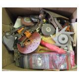 Tools, Grinder Wheels, Tape Measure & More
