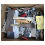 Variety Finishing Tools - Putty Knives, Brushes