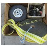 Roll Nylon Strap, Wheels & More