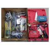 Milwaukee Drill, & Variety of Tools