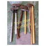 Sledge Hammer, Blacksmith, Split, Handles & More