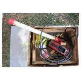 Retractable Extension Cord, Light & More