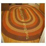 Very Large Entire Room  Size Hand Woven Rug