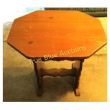 Hard Wood Octagon Table