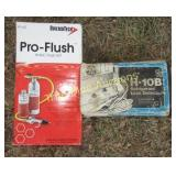 HVAC Flush Kit & H10B Refrigerant Leak Detector