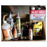Wood Protector, Liquid Nails & More