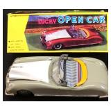 VINTAGE FRICTION LUCKY OPEN CAR W/ORIGINAL BOX
