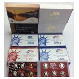 2005 U.S SILVER PROOF SET/ASSORTED 2000