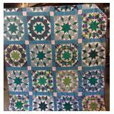 VINTAGE DOUBLE STAR QUILT