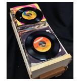 175 VTG. VINYL 45 RECORDS, WILLIE NELSON, NEIL